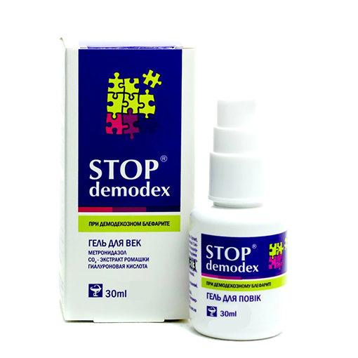 Stop Demodex гель для век